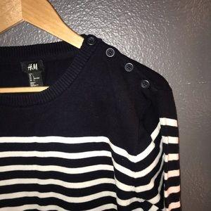 Men's Stripped Light Sweater